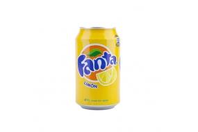 Fanta Limón en Lata
