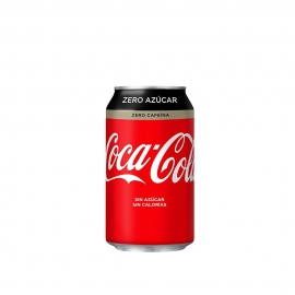 Cocacola ZERO en Lata